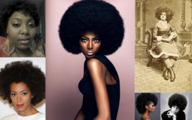 afros from then and now